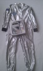 Star Force Spacesuit 2-Piece Fancy Dress Outfit 6-8 years